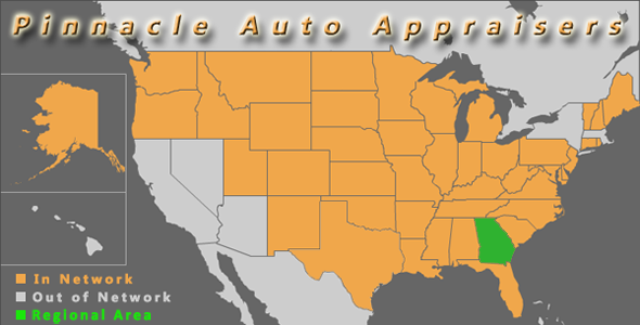 map georgia pinnacle auto appraiser appraisal diminished value